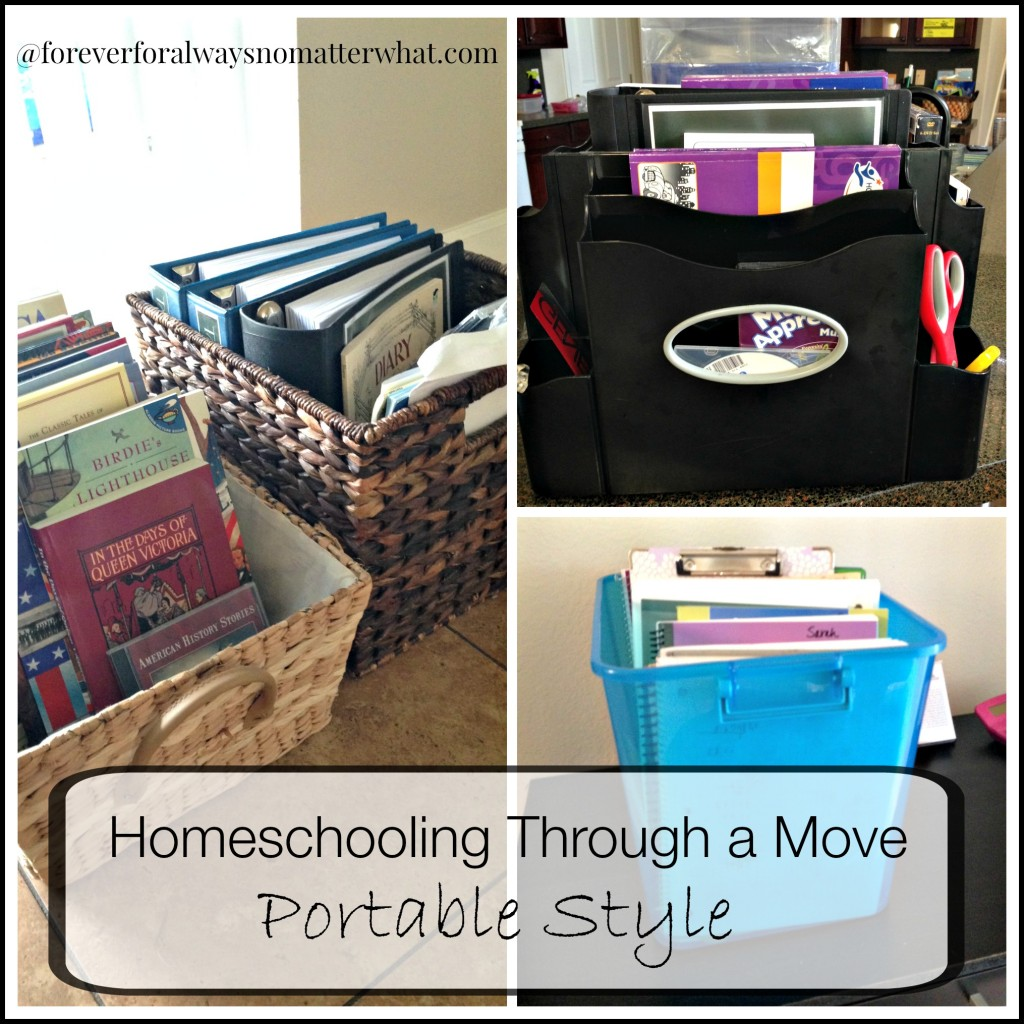 Homeschooling Through a Move