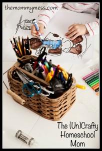 (Un)Crafty Homeschool Mom