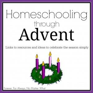Homeschooling through Advent