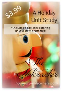 Nutcracker Unit Study