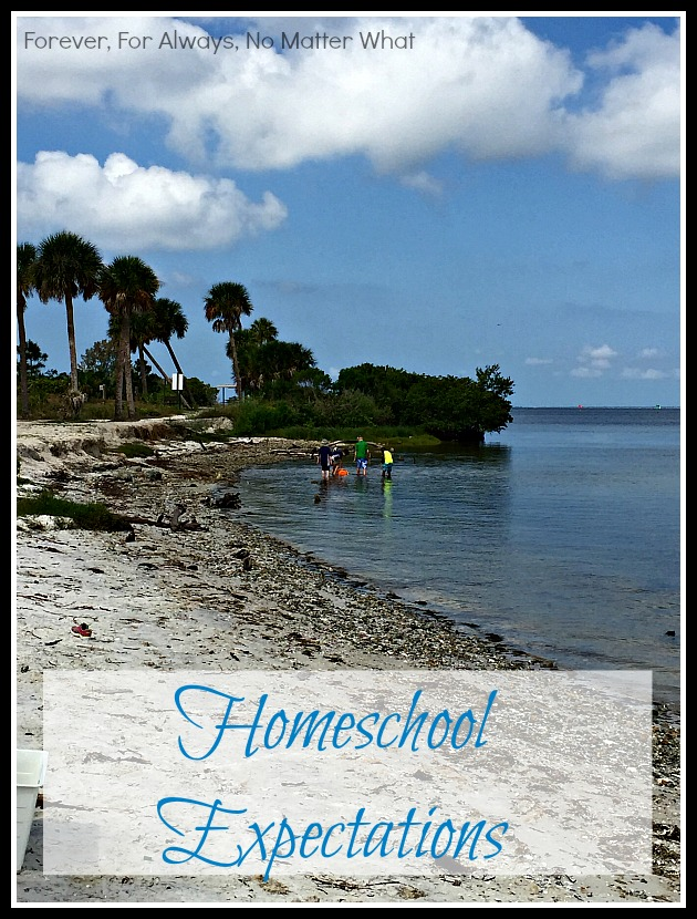 Homeschool Expectations